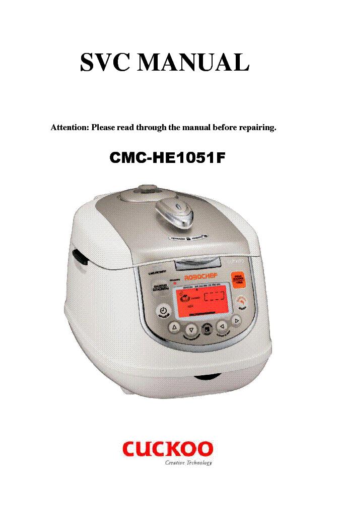 Cuckoo Cmc He1051f Service Manual Download Schematics