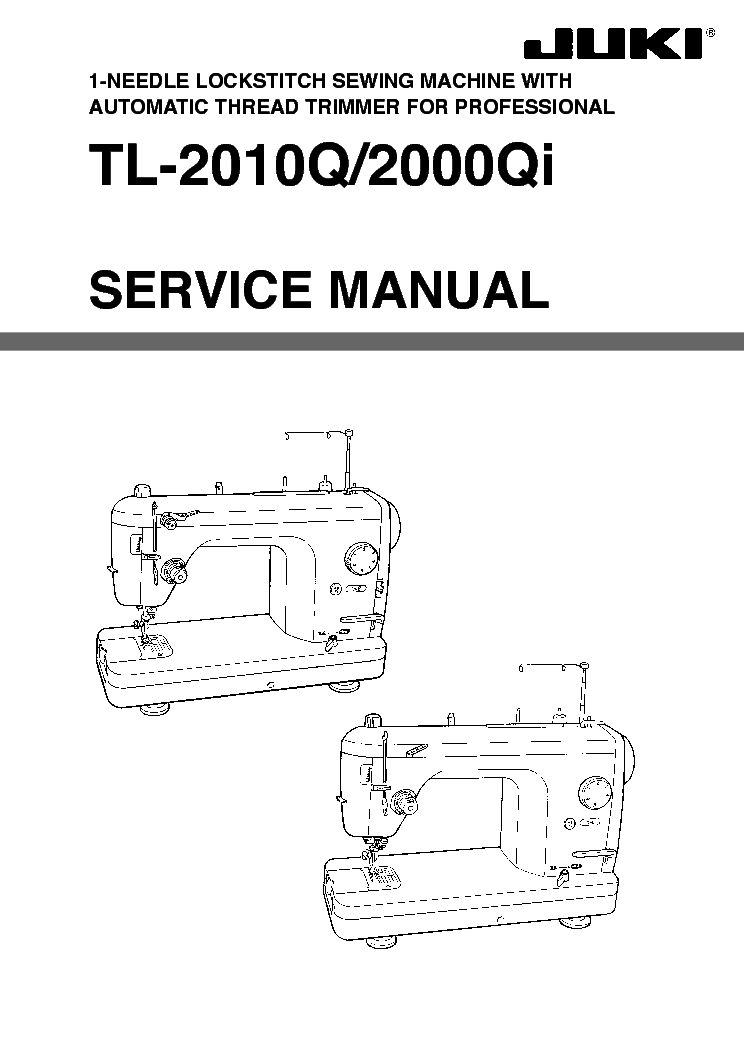 juki tl 2010q tl 2010qi sm service manual download schematics rh elektrotanya com juki service manual book juki service manual book