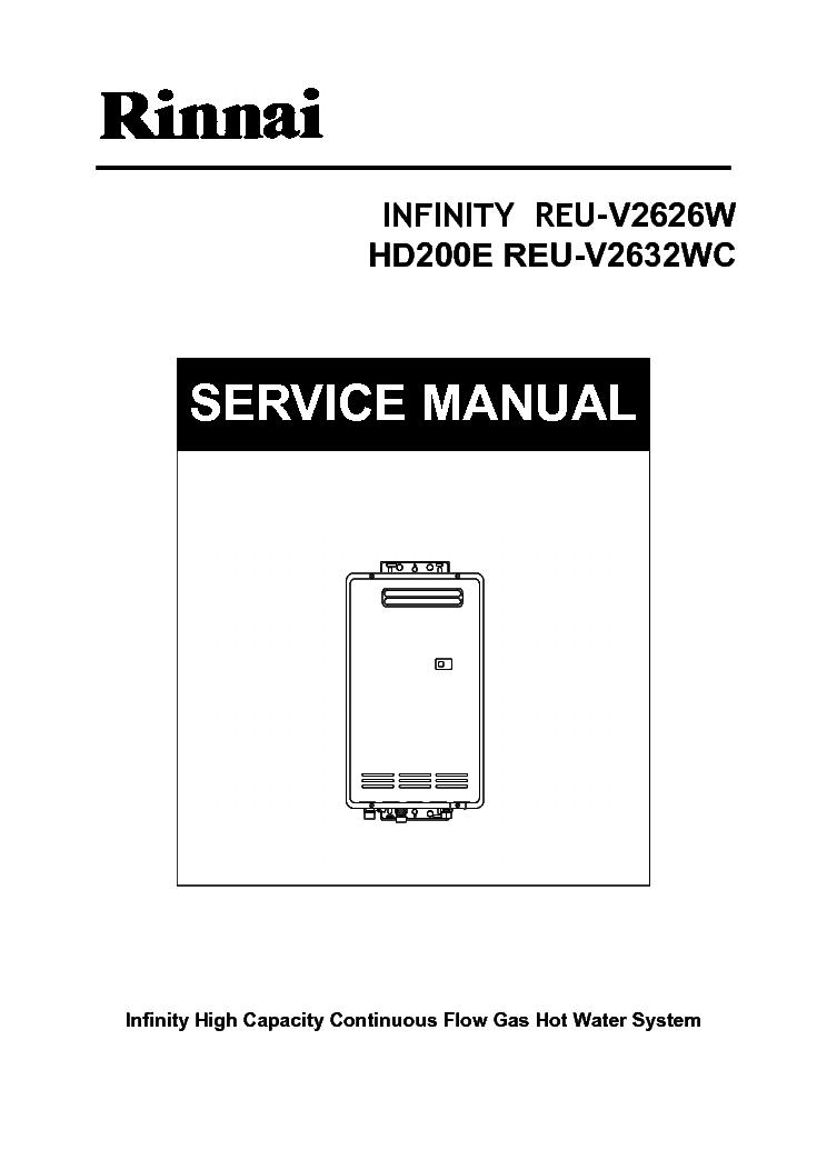 rinnai infinity reu v2626w hd200e reu v2632wc service manual rh elektrotanya com