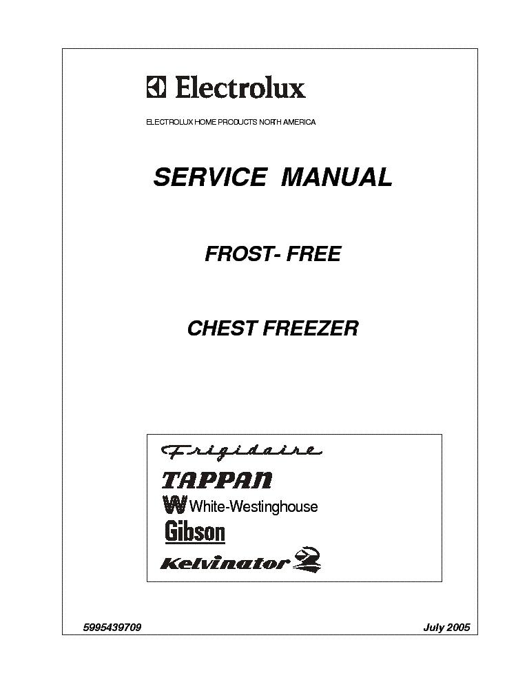 Electrolux Inspire  U0418 U043d U0441 U0442 U0440 U0443 U043a U0446 U0438 U044f Frost Free