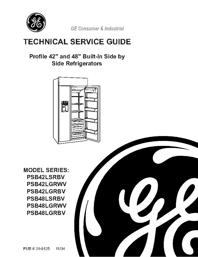 ge psb42lsrbv lgrwv lgrbv psb48 series profile 42 and 48 ge radio schematic ge radio schematic ge radio schematic ge radio schematic