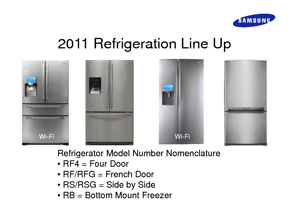 samsung wi fi refrigerator training 2011 rf4267 4287 4289 rsg307 309 service manual download Maytag Refrigerator Manual Frigidaire Refrigerator Manual