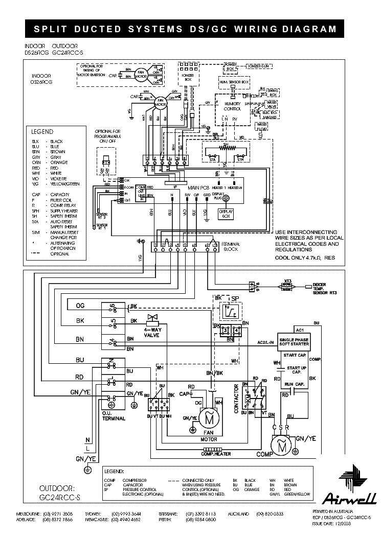 york central air conditioner wiring diagram diagrams