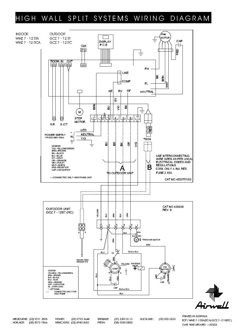 airwell wmz 7 12sta rca gcz 7 12st rc wiring diagram service manual download schematics eeprom. Black Bedroom Furniture Sets. Home Design Ideas