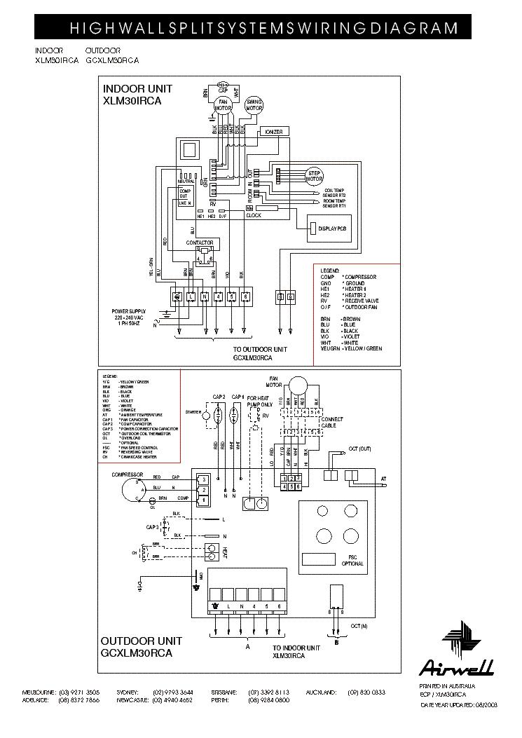 airwell xlm 30irca gcxlm 30rca wiring diagram service manual download schematics eeprom. Black Bedroom Furniture Sets. Home Design Ideas