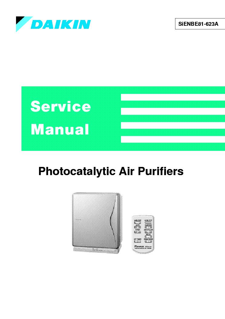 daikin air conditioner service manual pdf