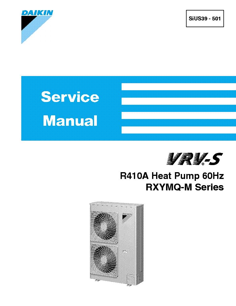 Daikin Vrv Service manual