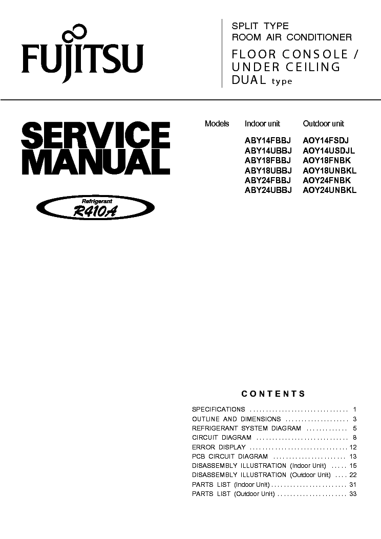 fujitsu airstage serie v service manual download schematics eeprom rh elektrotanya com Fujitsu General America fujitsu airstage v-ii service manual
