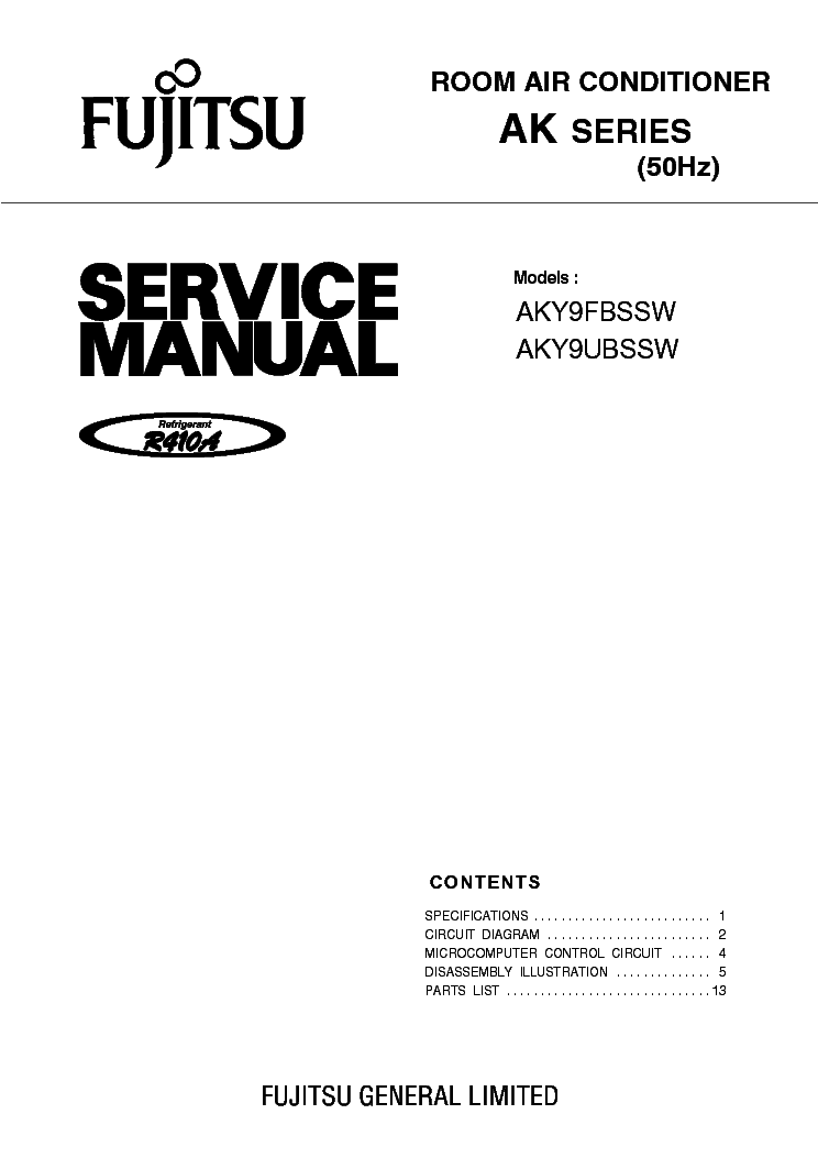 fujitsu aky9fbssw aky9ubssw service manual download schematics rh elektrotanya com Open-Air Stage Tapped Out fujitsu airstage v-ii service manual
