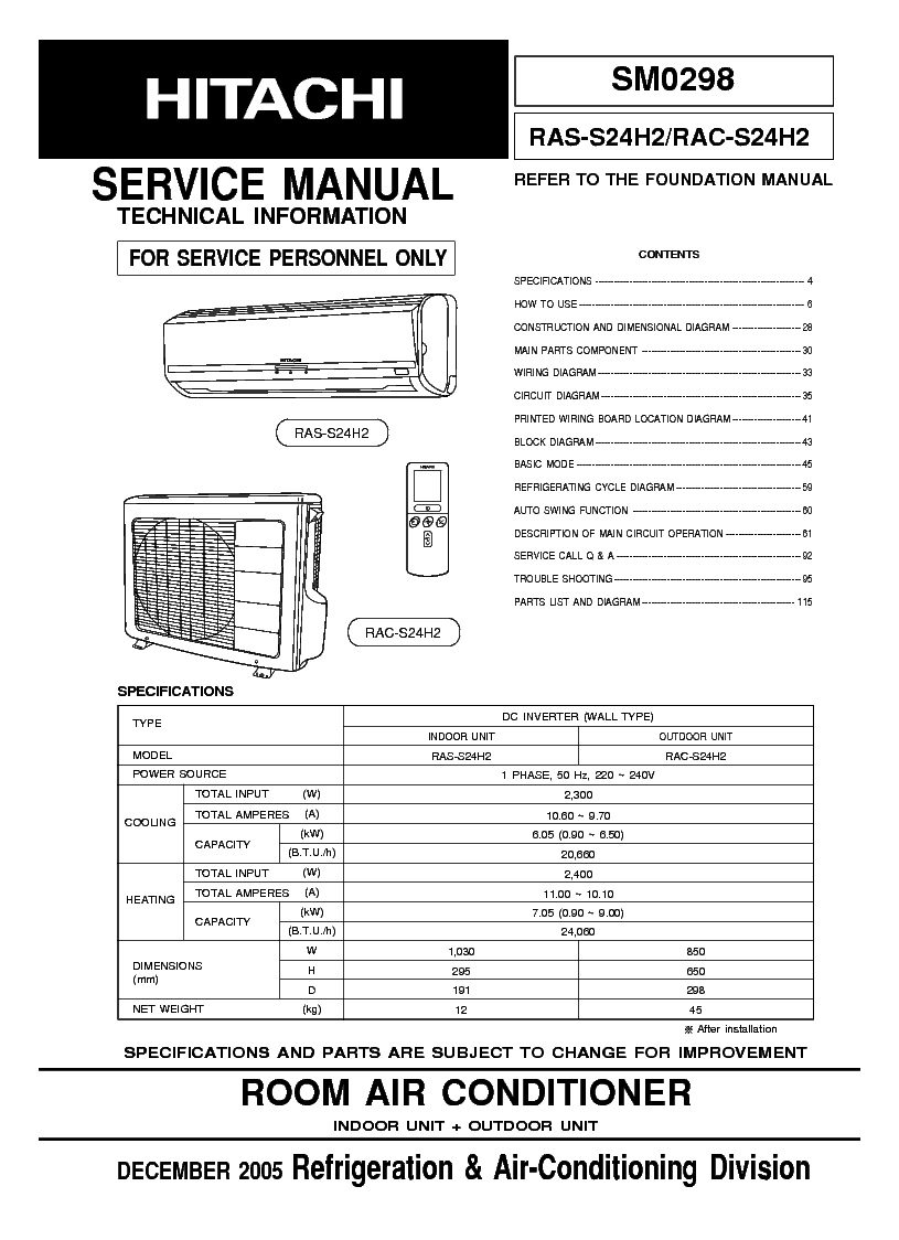 Hitachi Ras Manual Auto Electrical Wiring Diagram 1993 Yamaha Phazer Rac