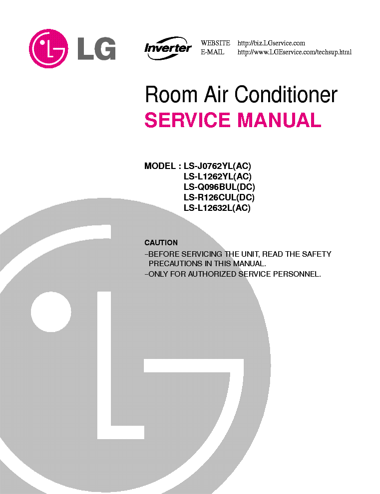 lg ls j0762yla20177g room air conditioner service manual download rh elektrotanya com zeppelin air service manual mistral air service manual