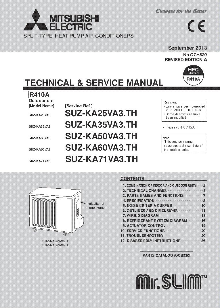 Schematics Mitsubishi Mr Slim Best Electrical Circuit Wiring Diagram Msz Cu415t Service Manual Download Eeprom Rh Elektrotanya Com 2012