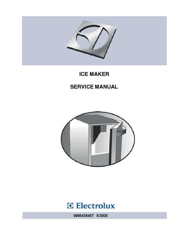 brema ice maker service manual pdf