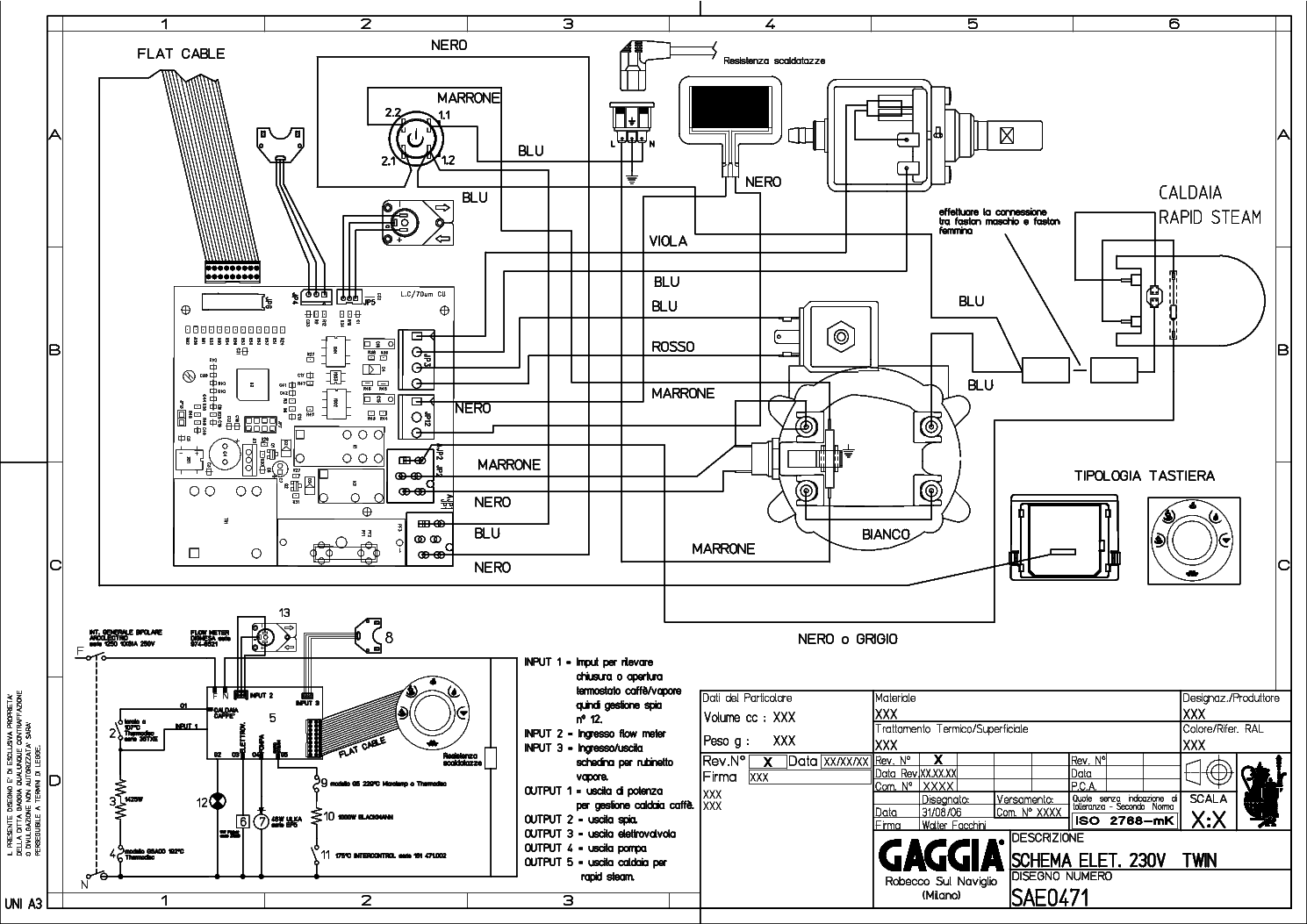 Gaggia New Baby2006 V120 Service Manual Download