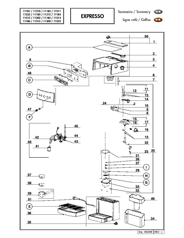 MAGIMIX M200 EXPLODED VIEWS Service Manual download, schematics ...