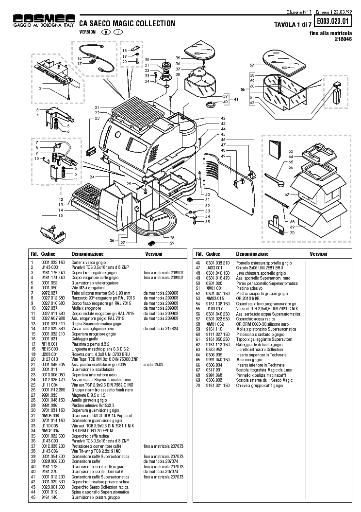 saeco sup 003 service manual free download schematics. Black Bedroom Furniture Sets. Home Design Ideas