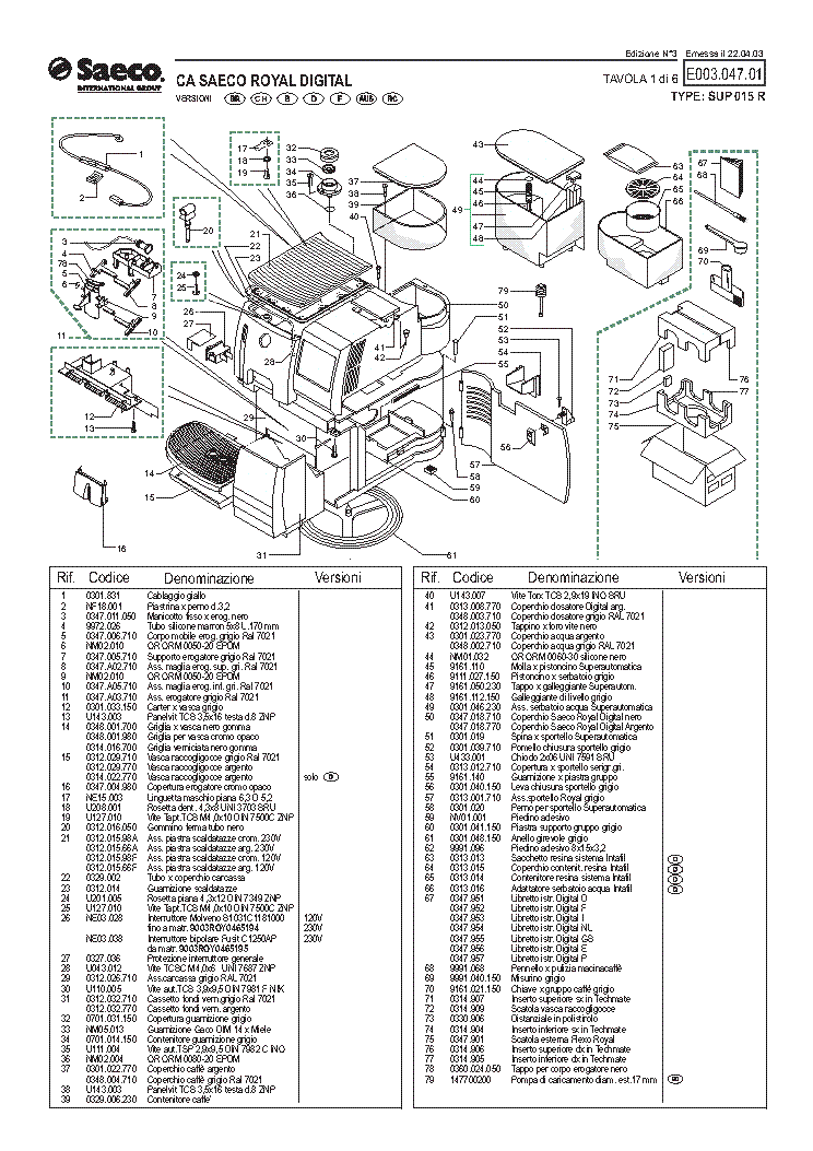 saeco wiring diagram wiring diagram and schematic saeco royal professional ns120v ul sup016 wiring diagram