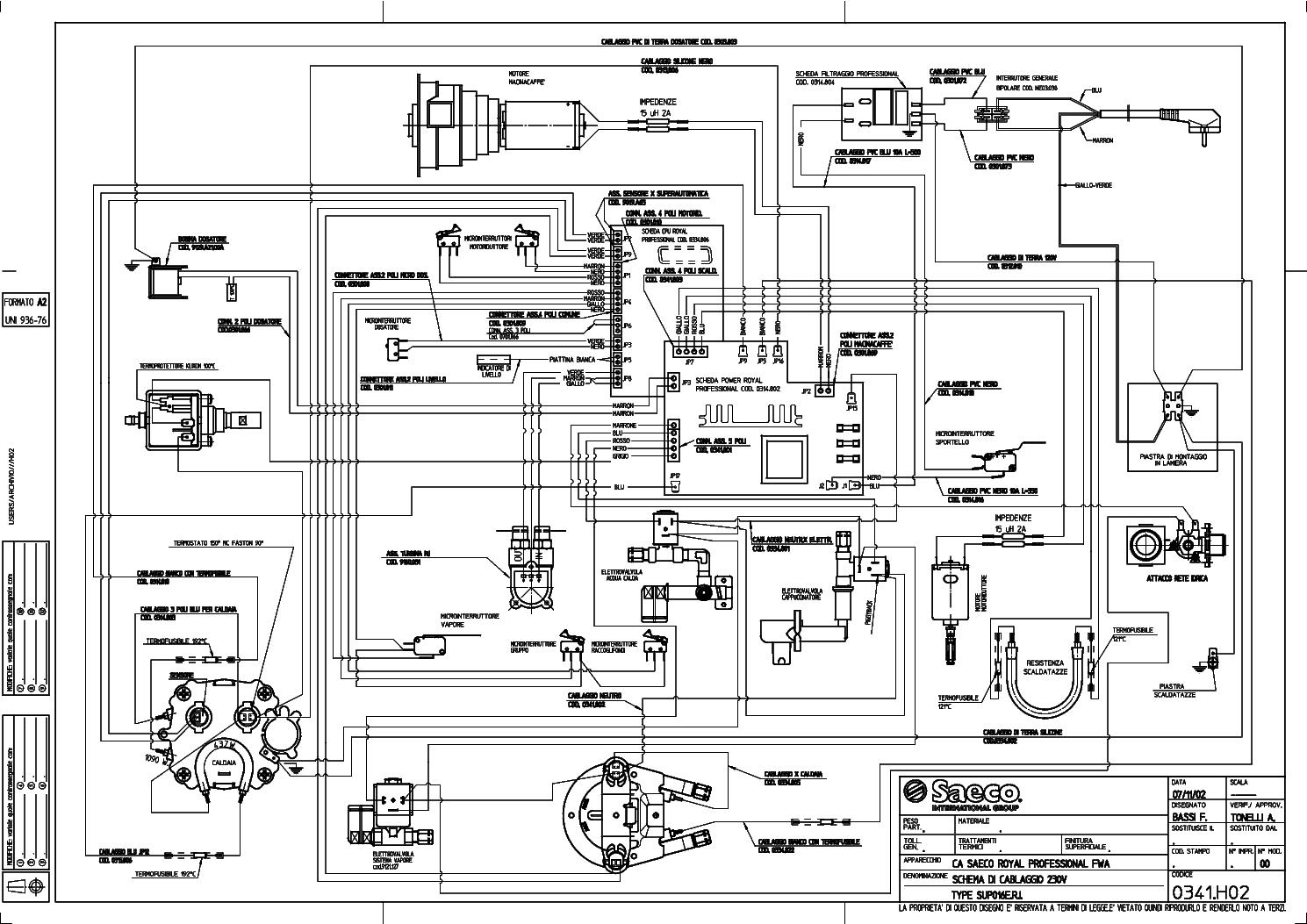 saeco royal coffee bar service manual download  schematics