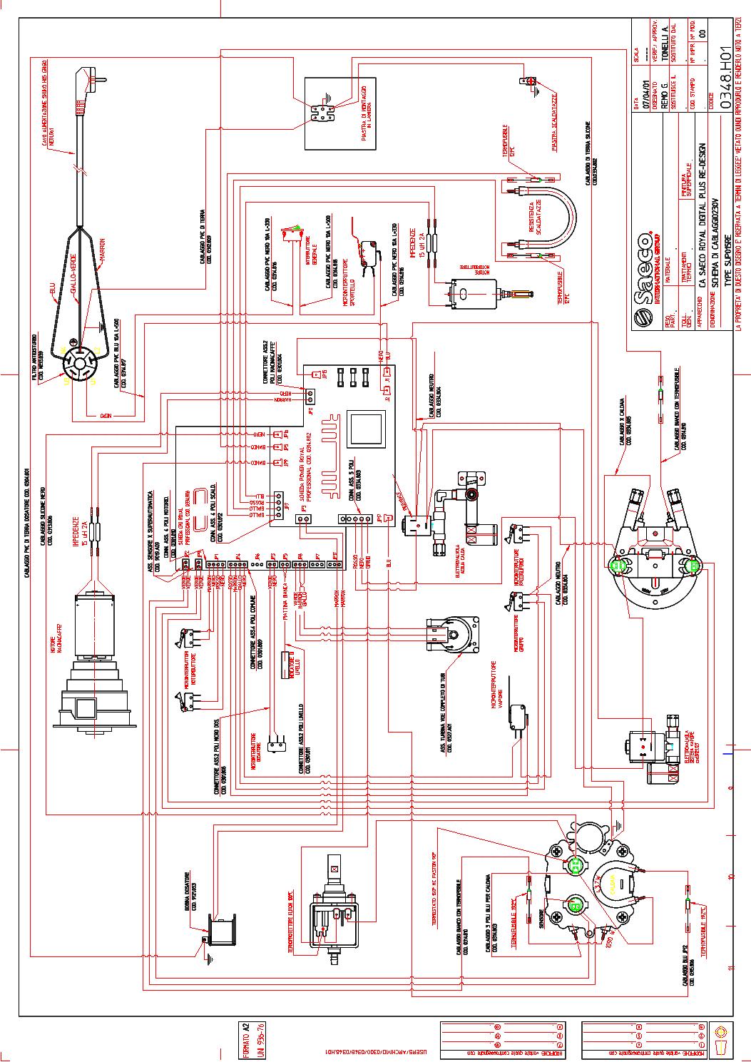 Pid Temp Controller Wiring Diagram Not Lossing Temperature La Pavoni Diagrams Thermos 5500w 240v
