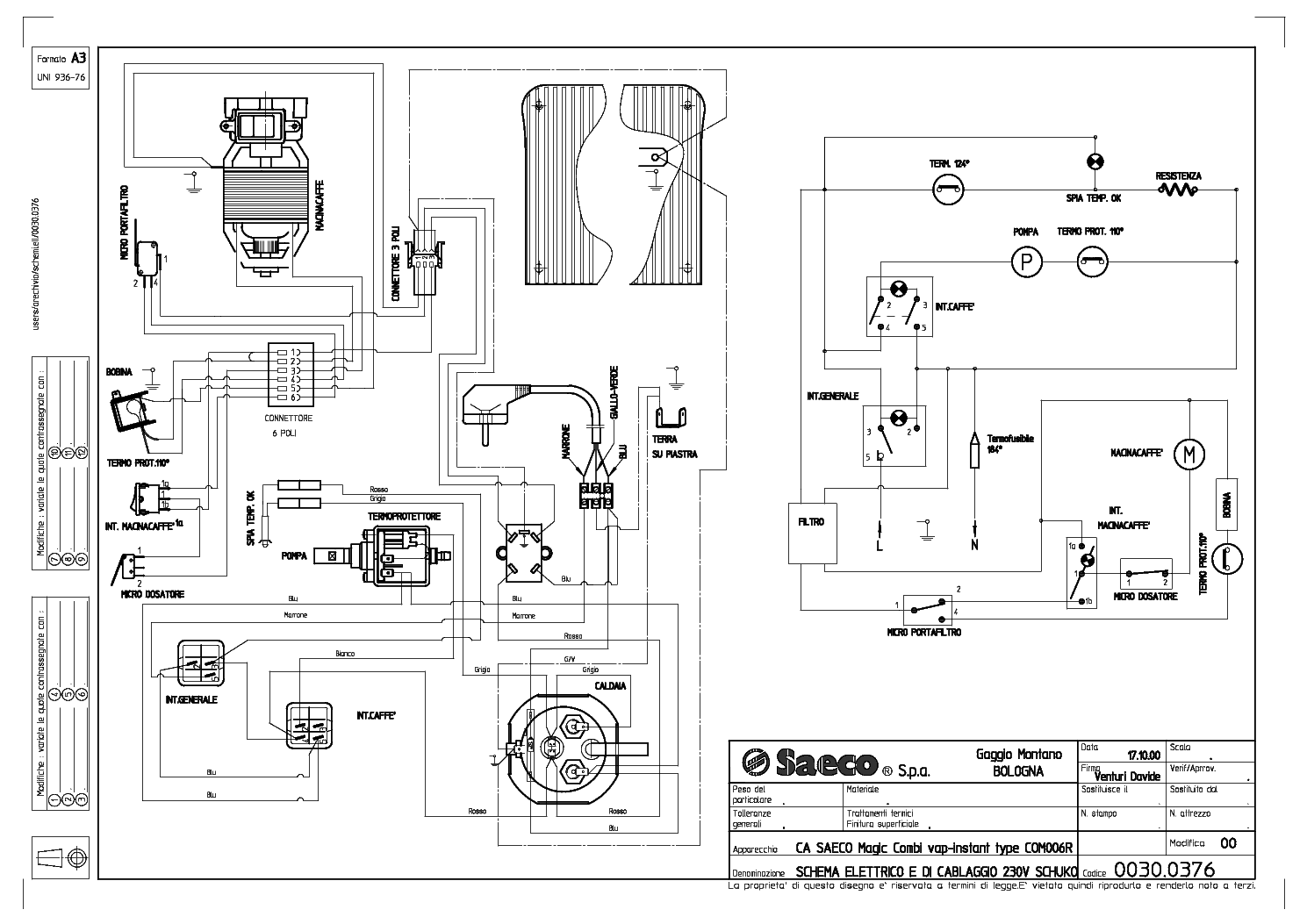 saeco primea cappuccino touch plus service manual