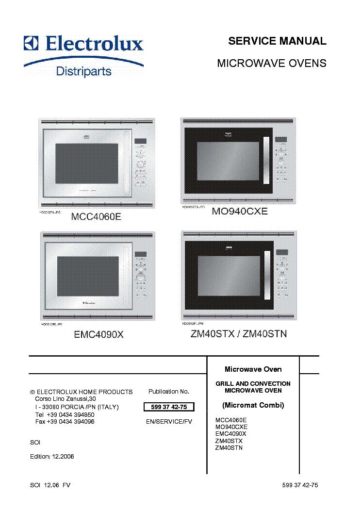Electrolux MO940CXE