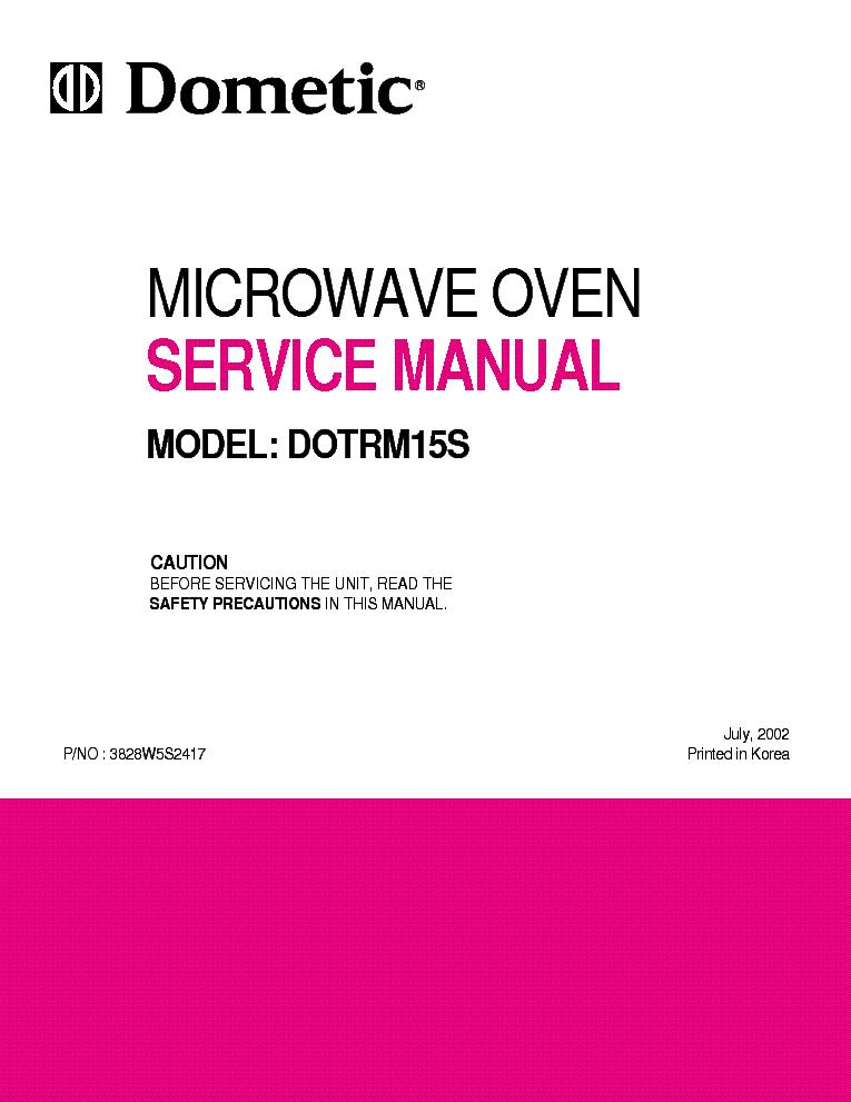 Microwave Repair: Dometic Microwave Repair