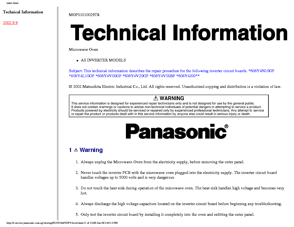 Panasonic Inverter Manual  U2013 Speelgoed Keuken Accessoires