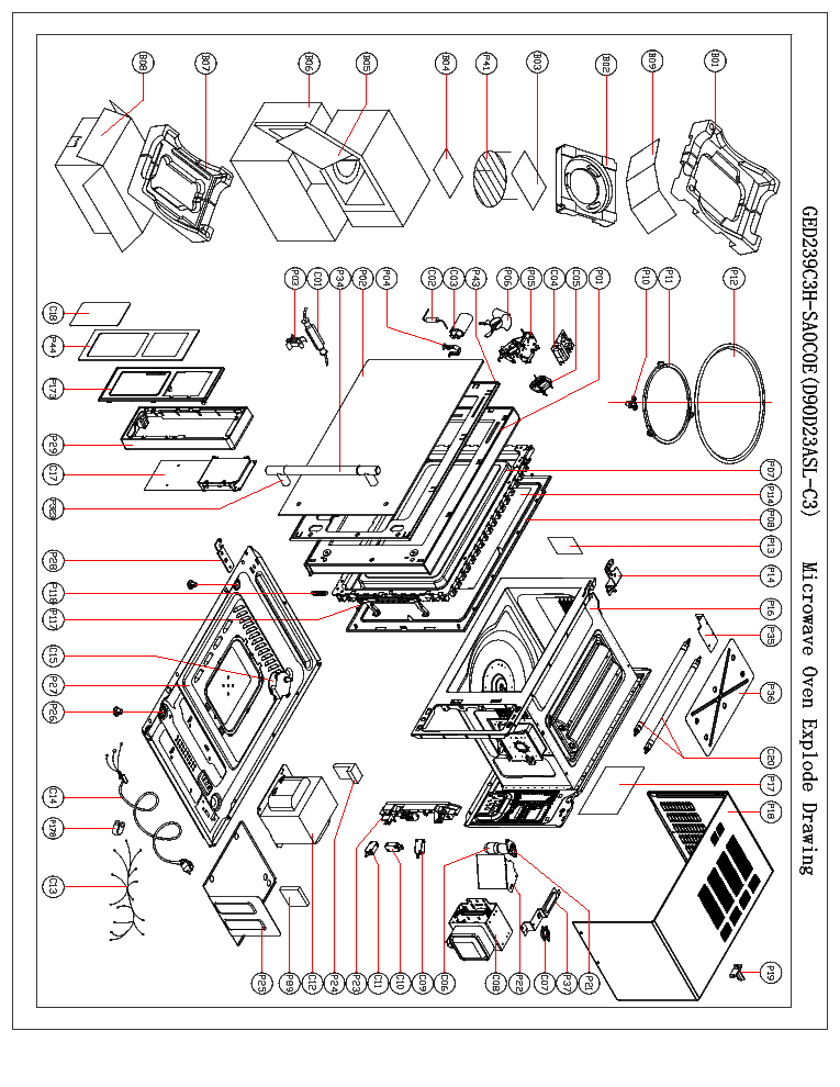 Microwave Oven Schematics