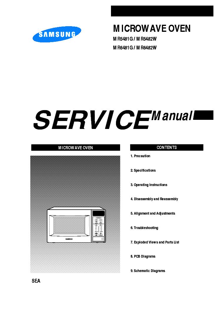 Hlp5063wx xaa service Manual