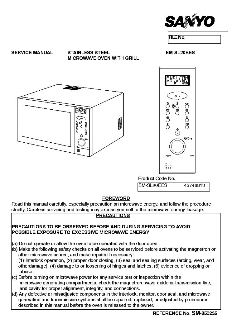 sanyo em sl20 service manual download schematics eeprom repair rh elektrotanya com