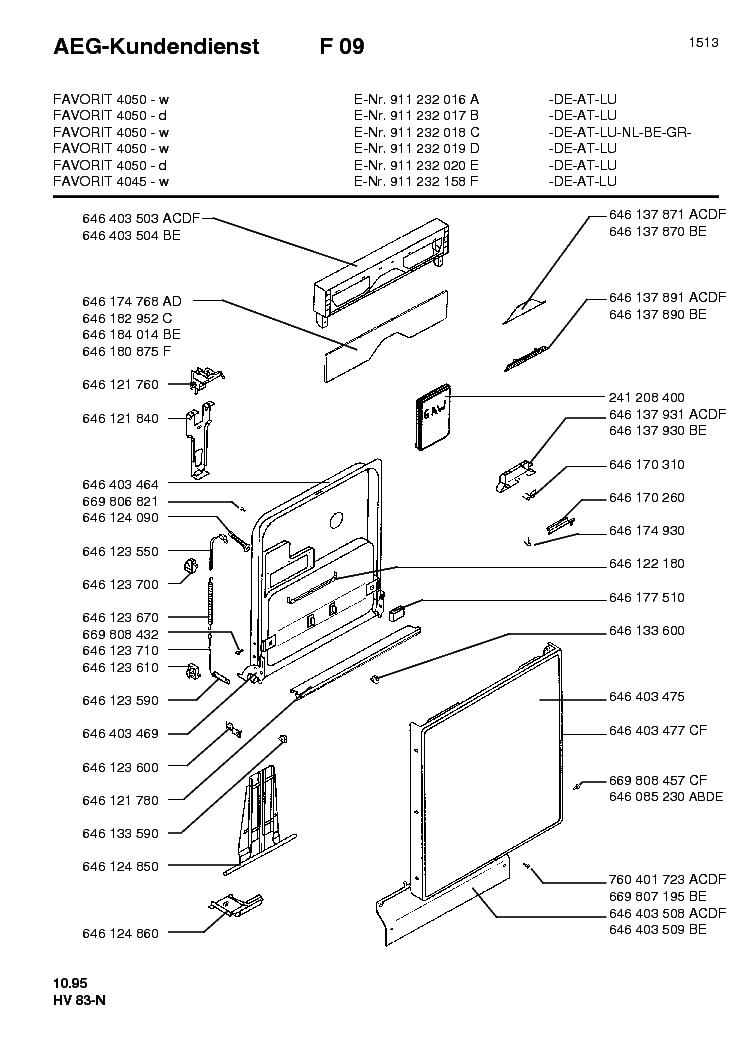 aeg favorit 4050 explo view service manual download schematics rh elektrotanya com Parts Manual aeg favorit service manual pdf