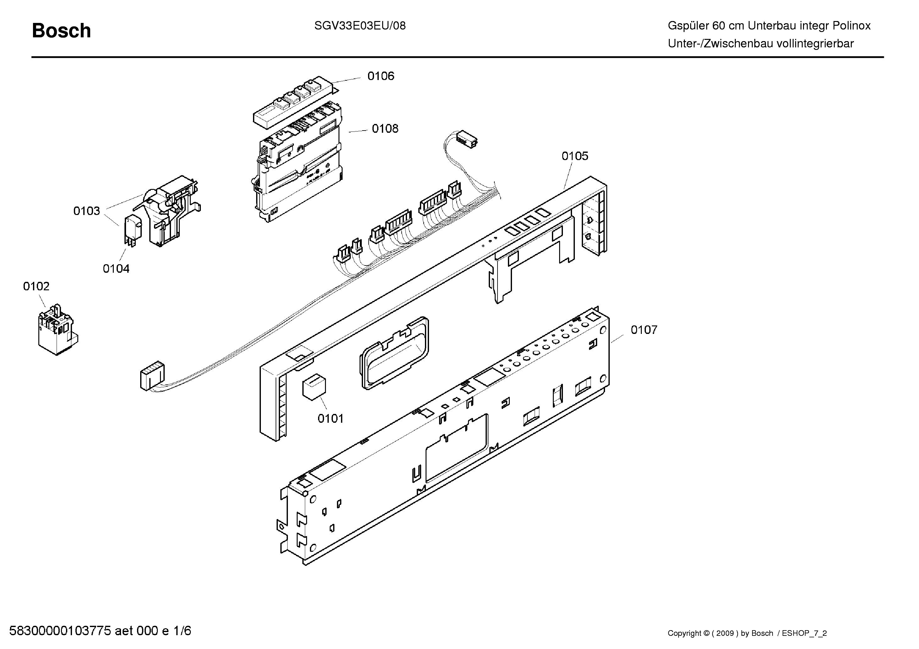 ... Array - bosch sgs 4002ff12 exploded service manual download schematics  rh elektrotanya com