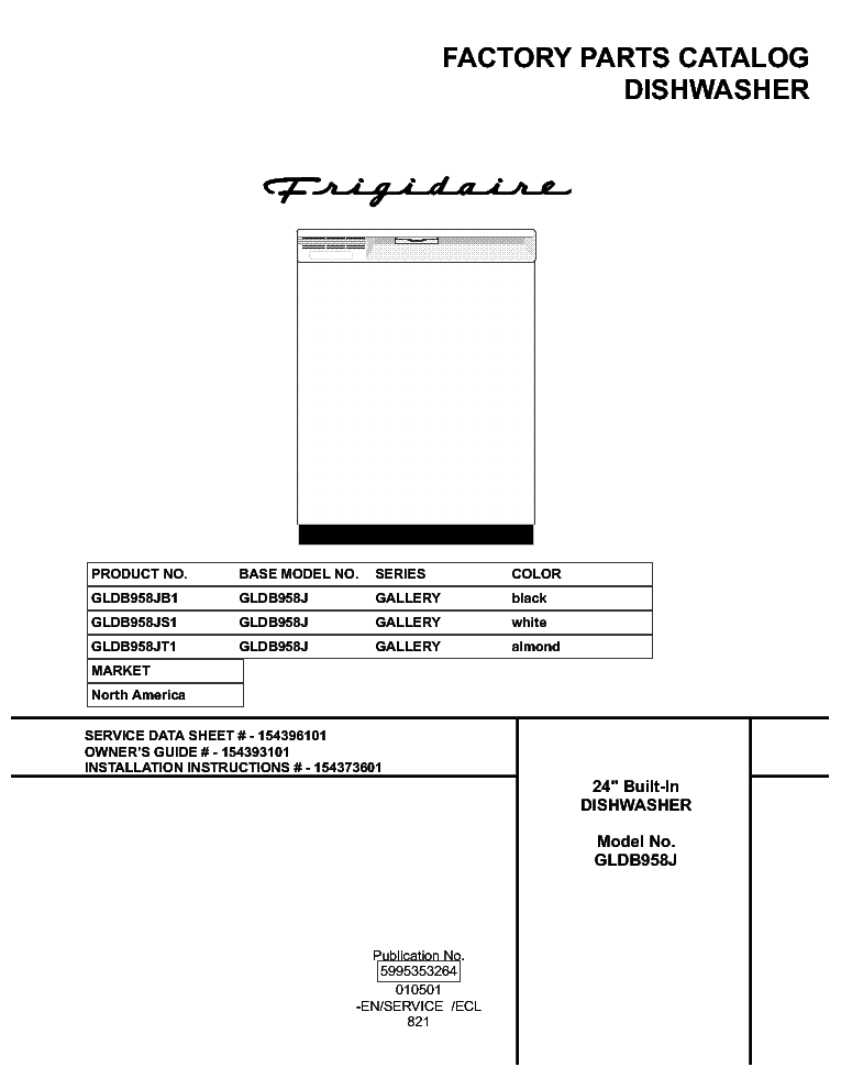 Frigidaire Frs26r4a Repair manual on