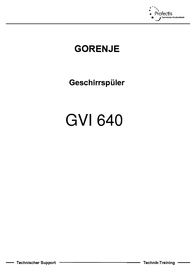 Gorenje Gvi640 Service Manual Download Schematics Eeprom