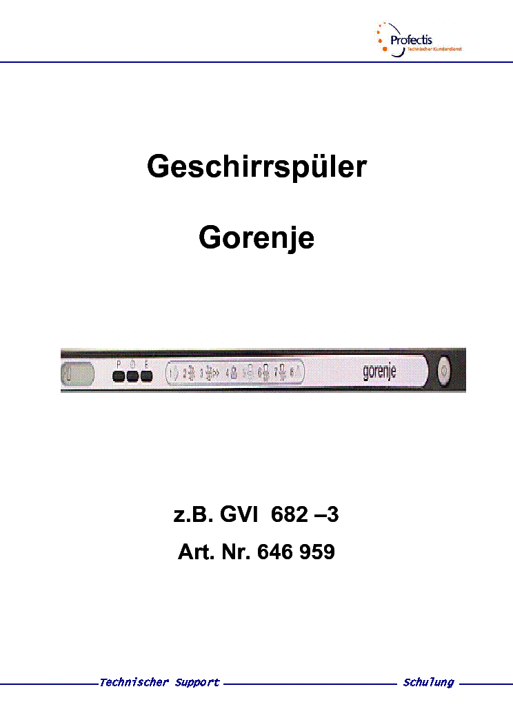 Gorenje K176bab Service Manual Download Schematics Eeprom Repair