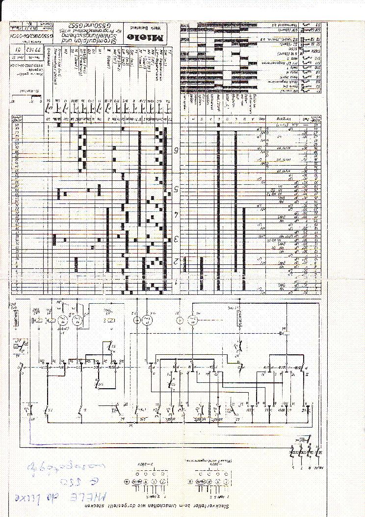 Miele W723 731 732 Service Manual Download  Schematics