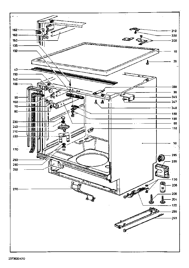 miele dishwasher schematic