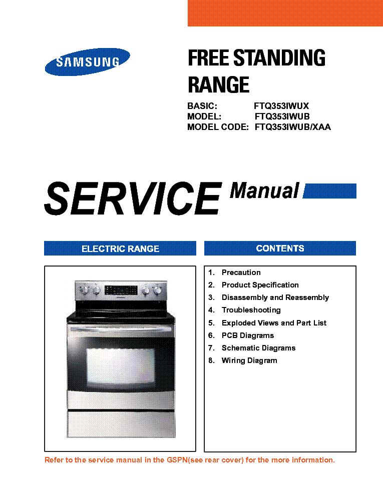 Dv328aew xaa service manual