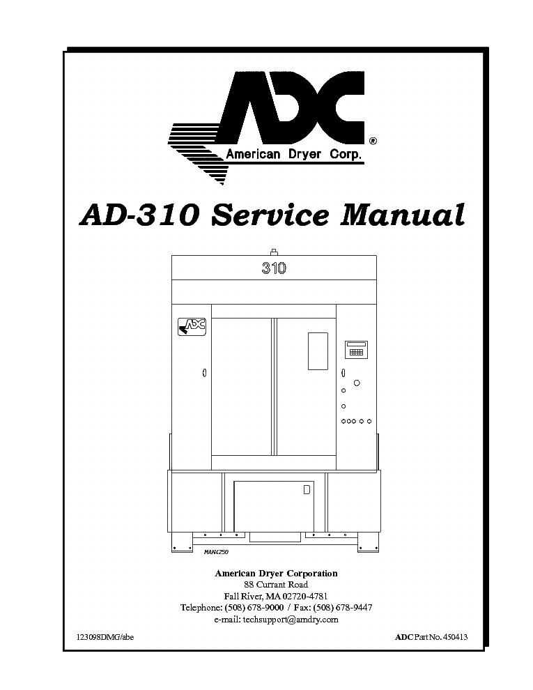 adc ad 310 service manual download, schematics, eeprom, repair info Amana Dryer Wiring Diagram at Adc 310 Dryer Wiring Diagram