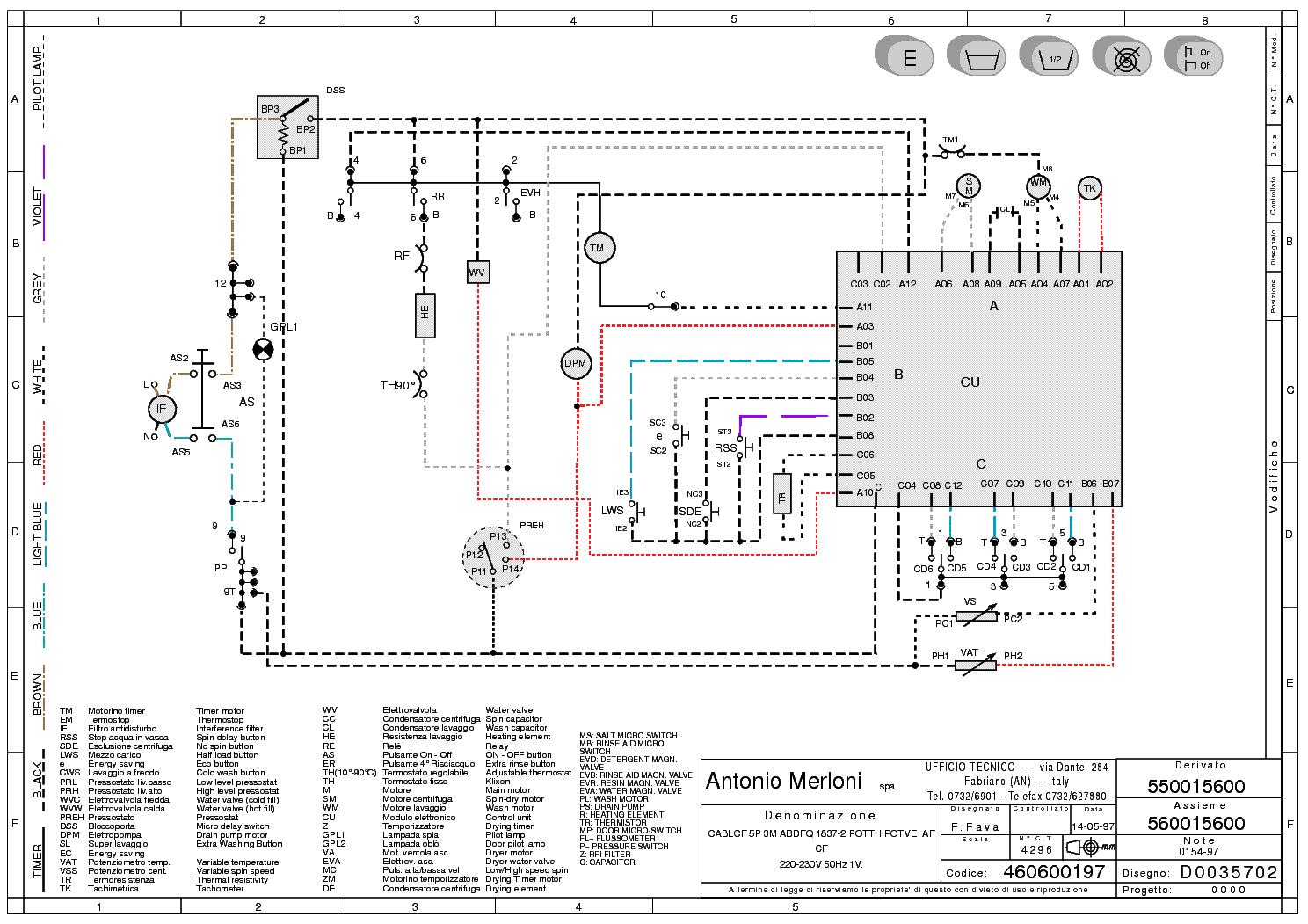 Схемы запуска электродвигателей стиральных машин