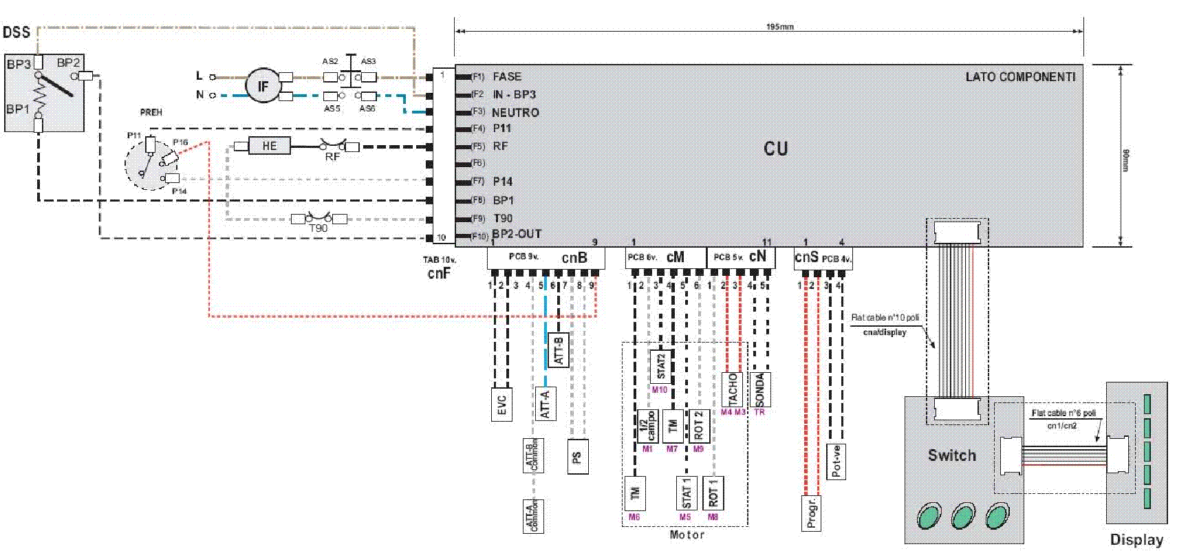 Схема подключения блокировки люка