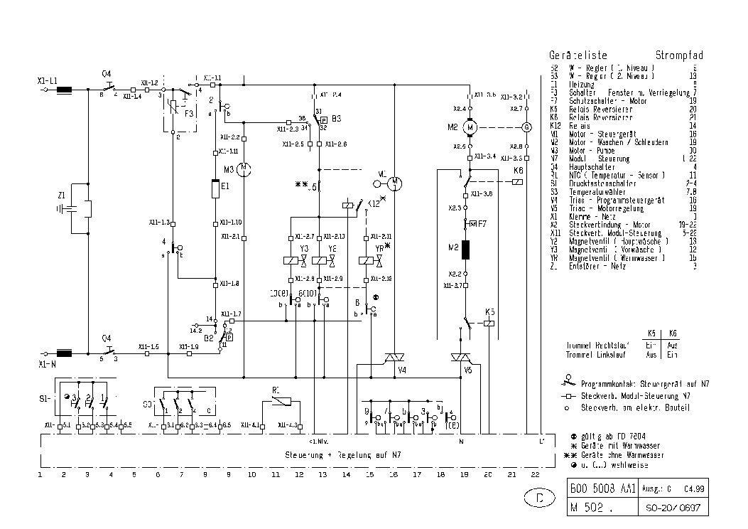 BOSCH EMRWFF 1400 SN 14FD SCH Service Manual free download, schematics ...
