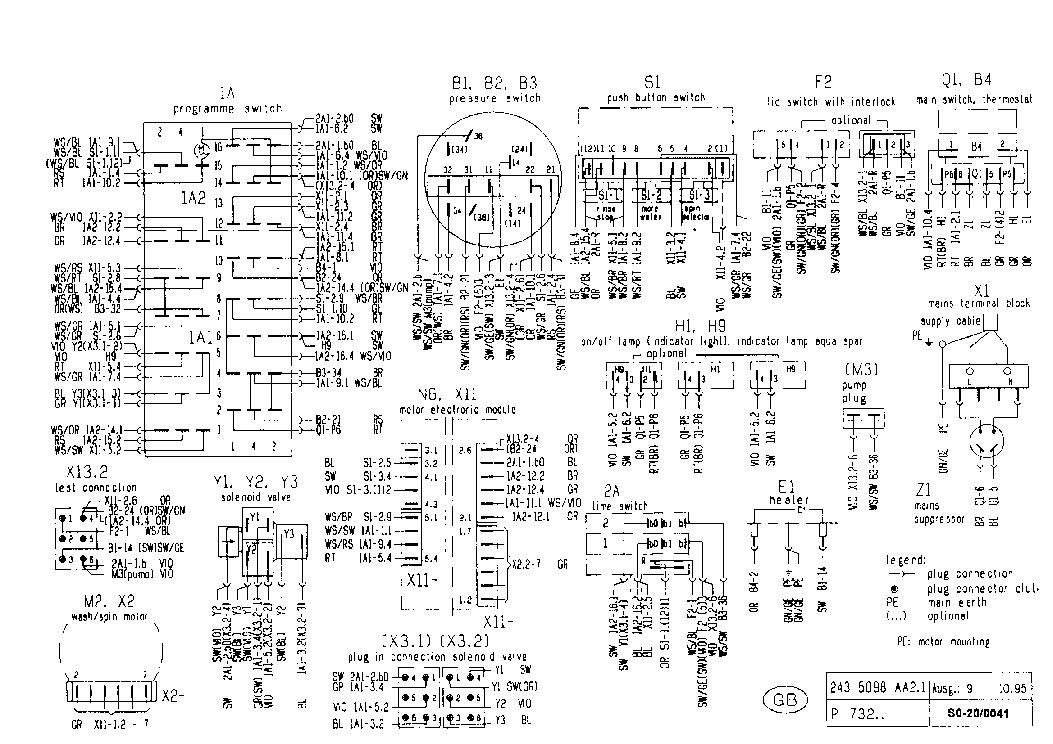Bosch Sgv49a03eu Service Manual