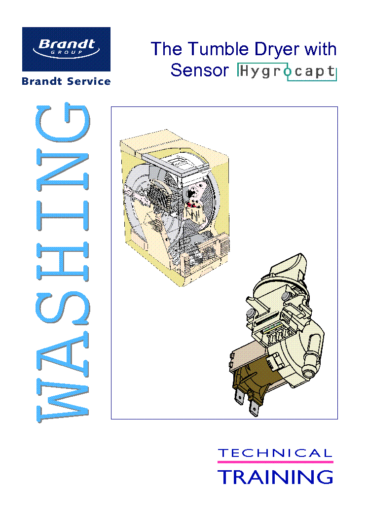 Brandt washer manual.