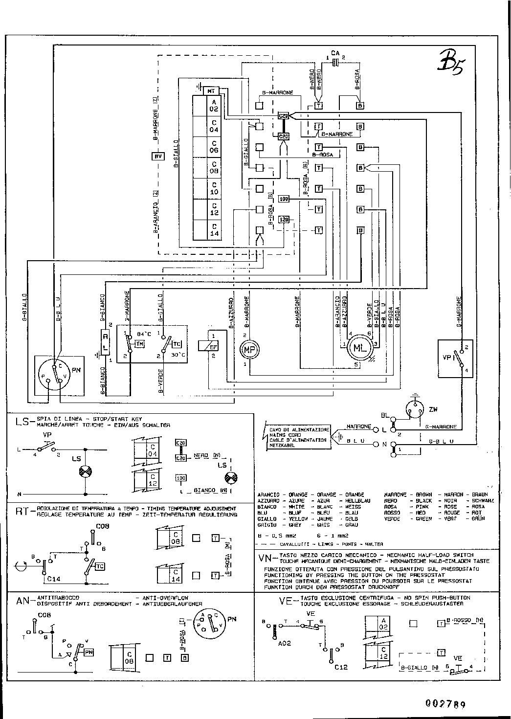 CANDY C435T-31054794E 156 SCH service manual (1st page)