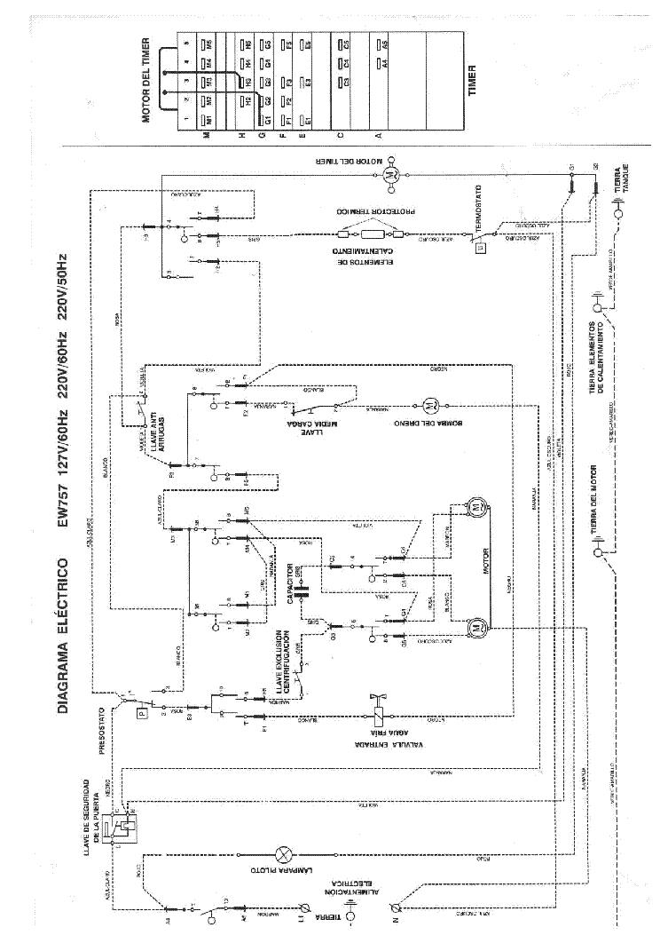 electrolux ew757 sch service manual (1st page)