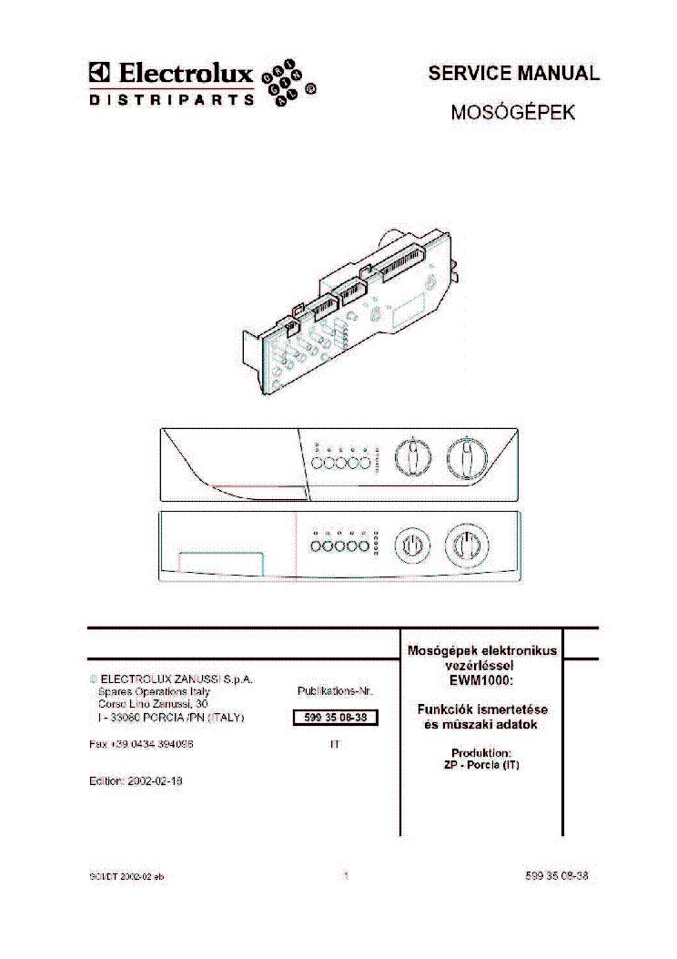 Electrolux Rm 4401 Bedienungsanleitung
