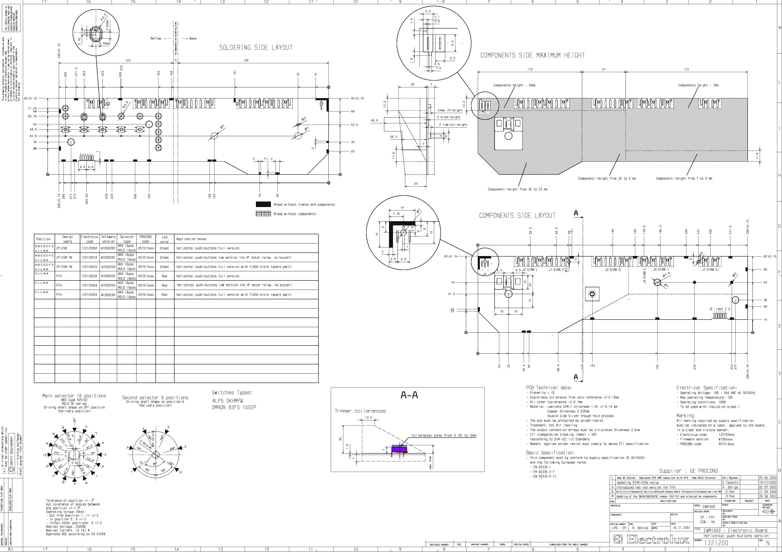 ELECTROLUX EWM1000 SHEMA SM SCH service manual (1st page)