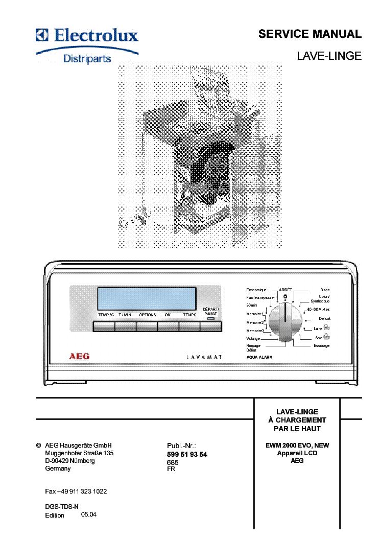 electrolux ewm2000 lcd service manual download schematics eeprom rh elektrotanya com Service ManualsOnline Manual Book