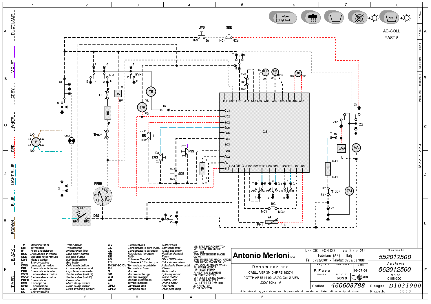 ELIN WM26AAA WIRING service manual (1st page)
